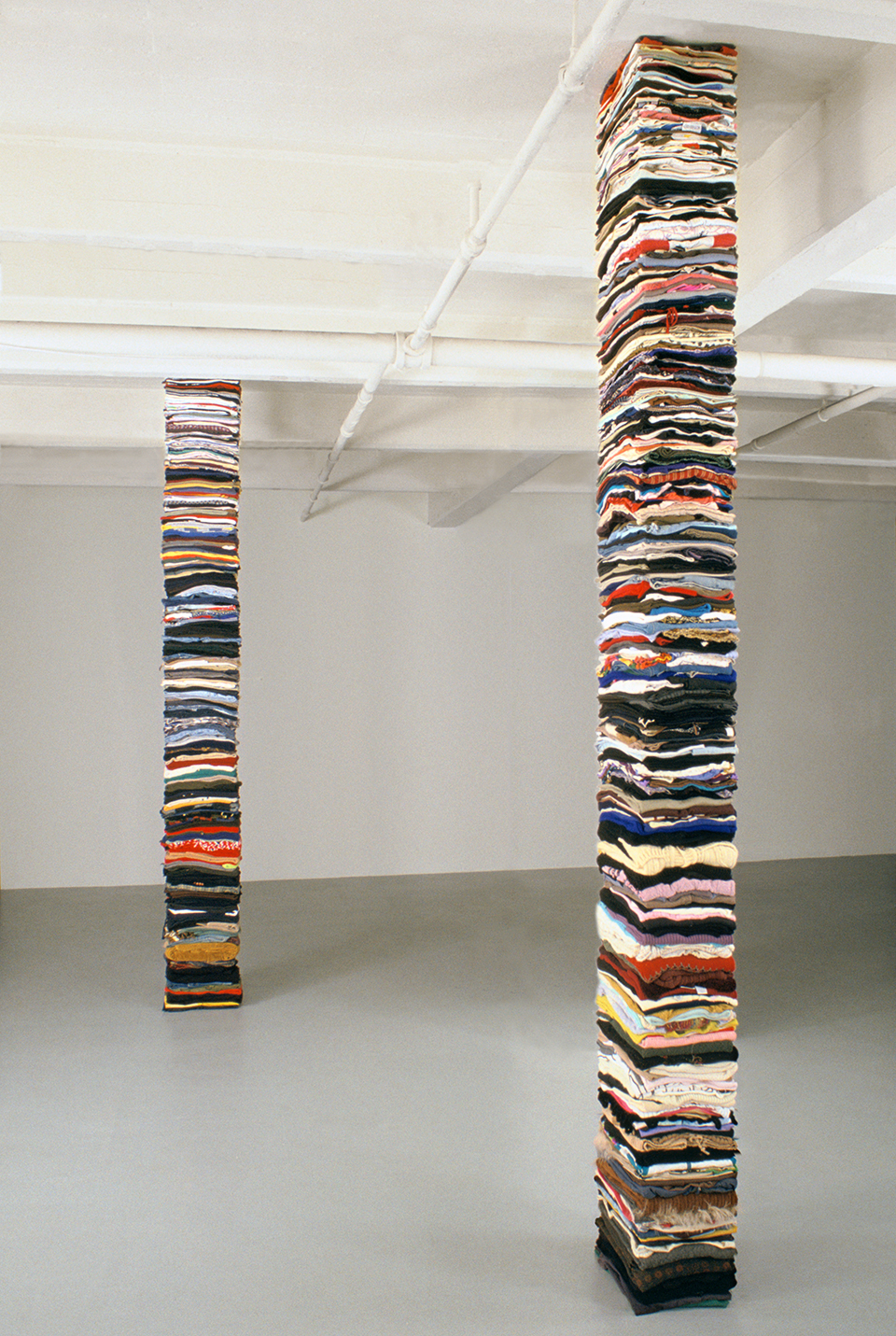 Clothing Sculpture: Where Do I Stop, Where Do You Begin, 2003