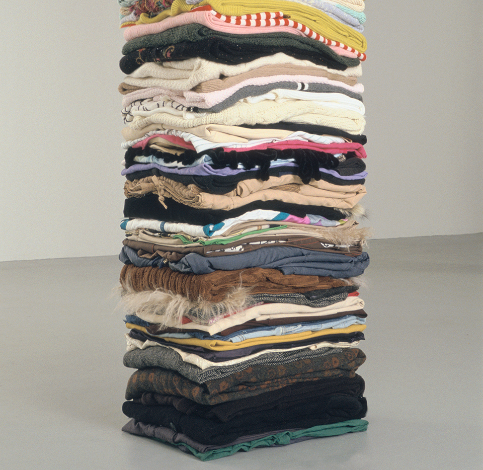 Clothing Sculpture: Where Do I Stop, Where Do You Begin (Singular), 2003