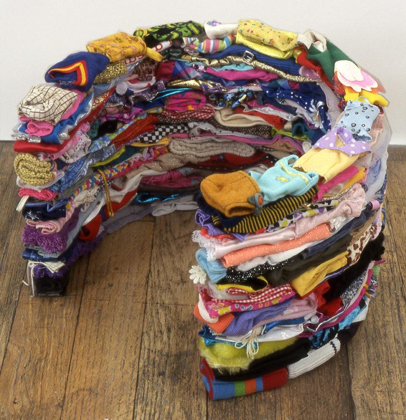 Clothing Sculpture: Grasp (maquette), 2004