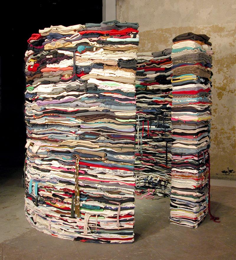 Clothing Sculpture: Grasp, 2005