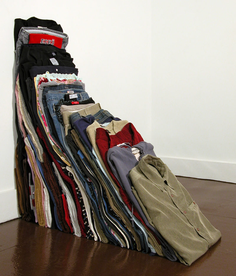Clothing Sculpture: Wedge, 2005