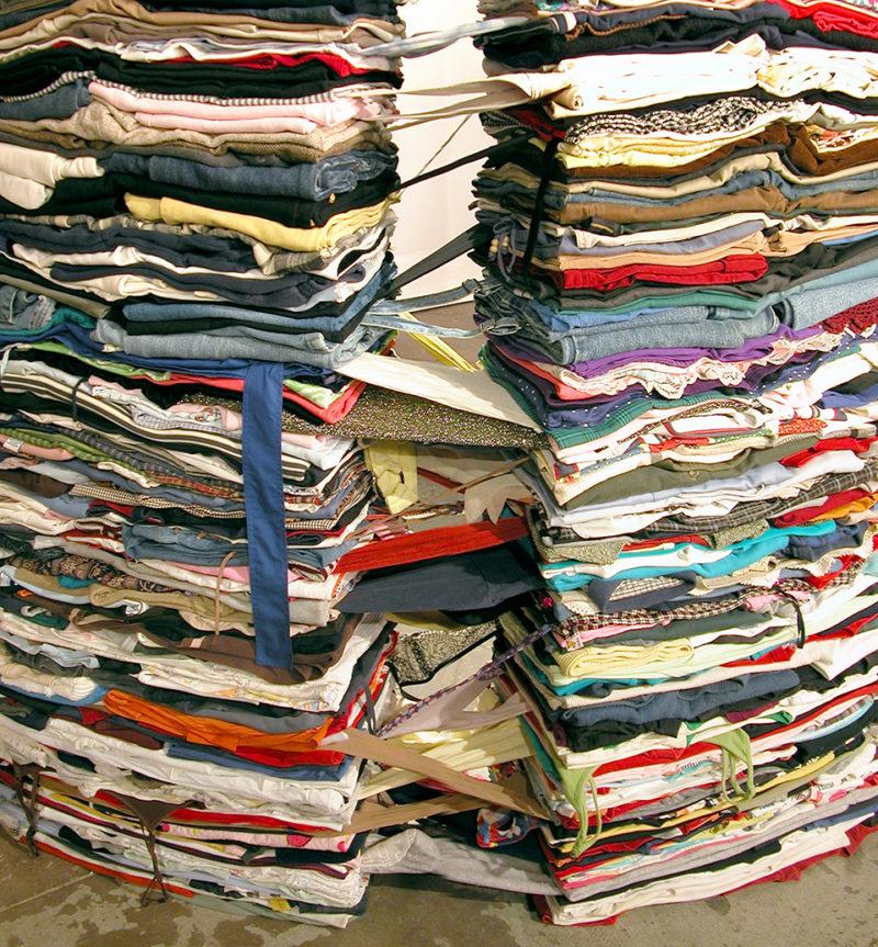 Clothing Sculpture: Grasp, 2005 (detail)
