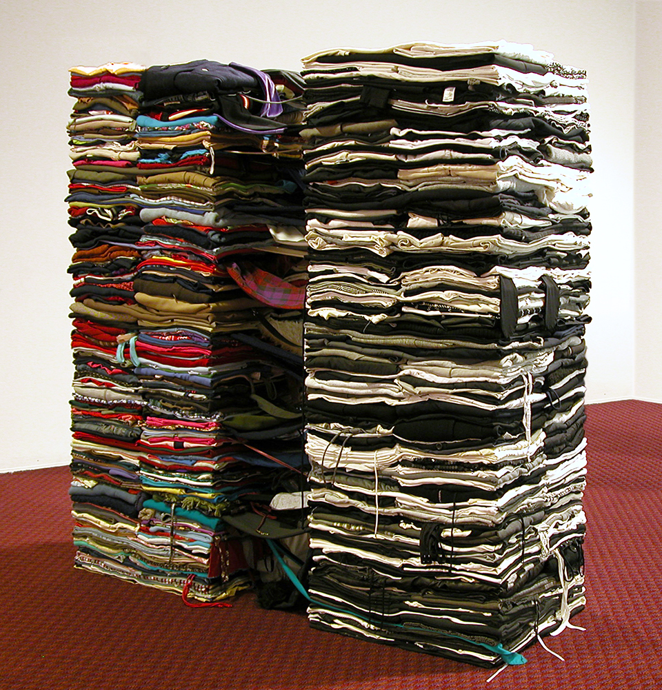 Clothing Sculpture: Dither, 2006