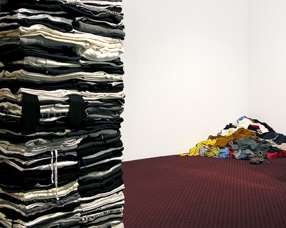 Clothing Sculpture: Dither with Unfoldables, 2006