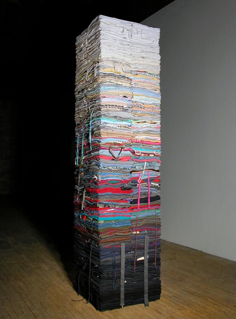 Clothing Sculpture: Compression, 2007 (2)