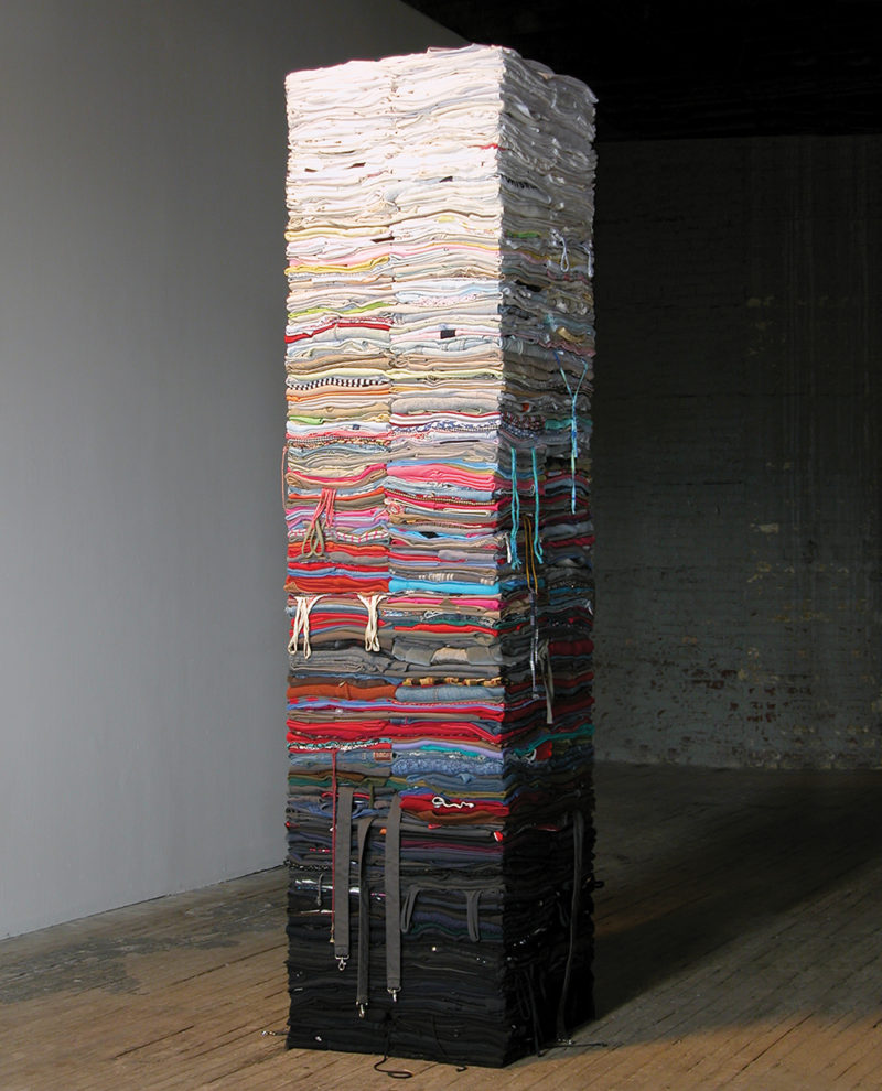 Clothing Sculpture: Compression, 2007 (3)