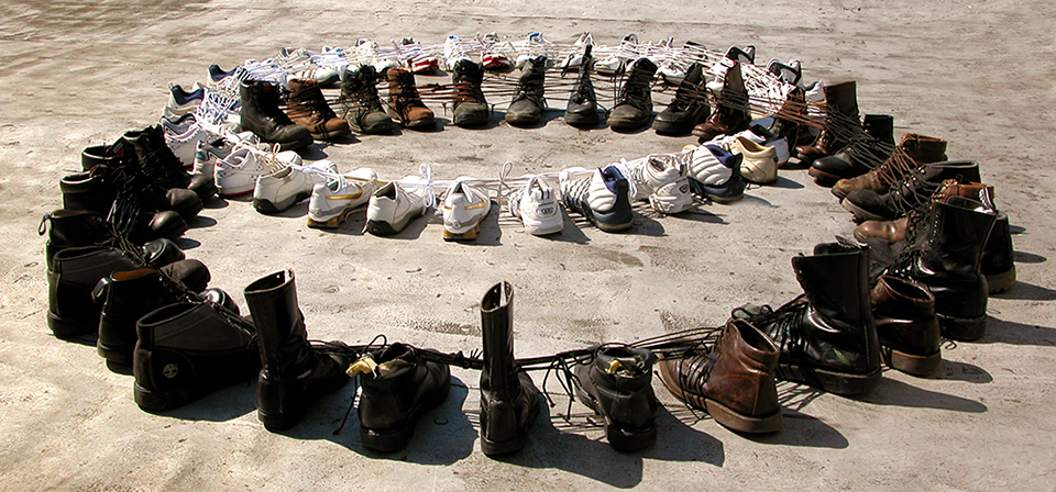 Shoe Sculpture: Universal Set, (low)