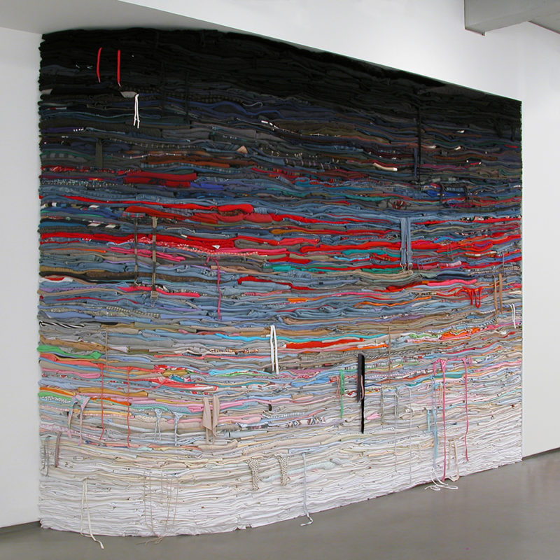 Clothing Sculpture: Filter, 2009