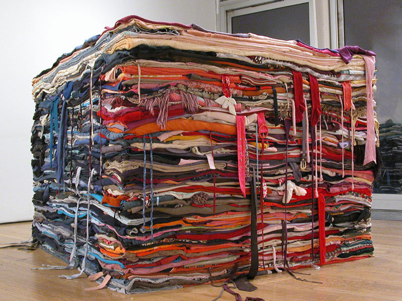 Clothing Sculpture: Into the Fold, 2009 (communal sculpture))