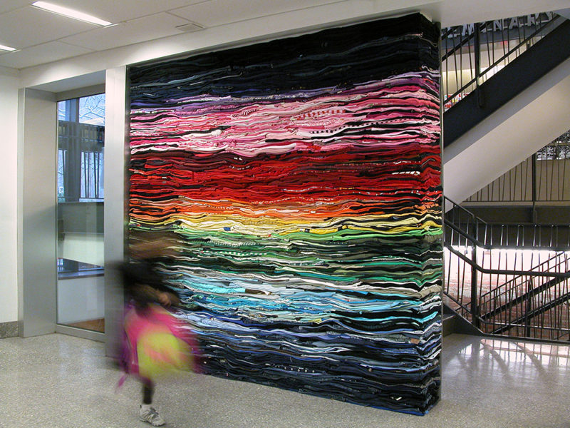 Clothing Sculpture: Into the Fold, Friends, 2010
