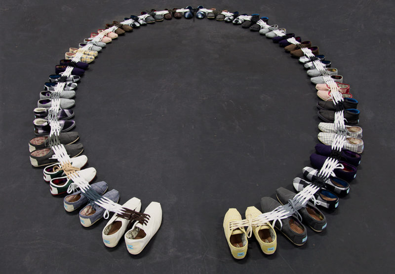 Shoe Sculpture: Circuit, 2011