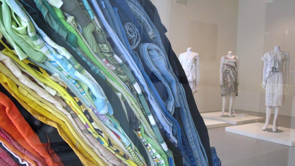 Clothing Sculpture: Drift, 2011 (installation view)