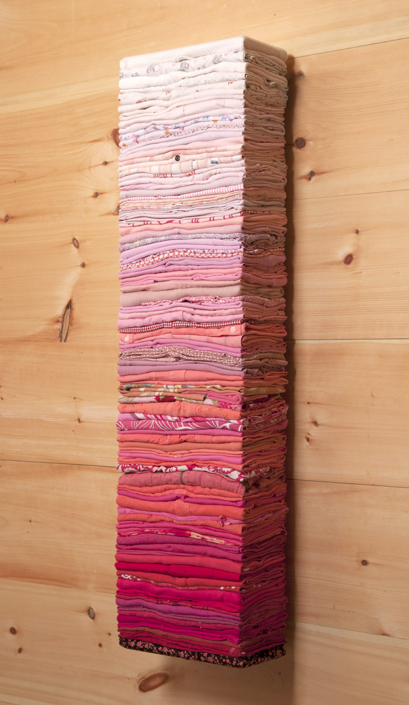 Clothing Sculpture, Untitled (pink, 3/4)