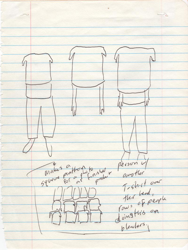Clothing Performance Drawing: Shirt Masks