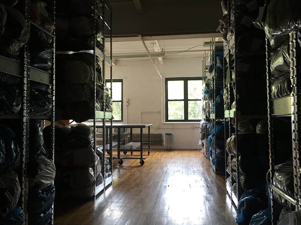 Studio, Eileen Fisher Tiny Factory, 2018 (hall)