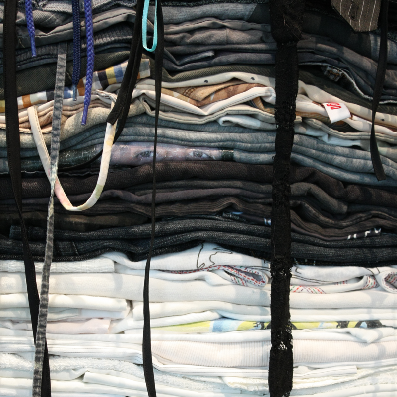 Clothing Sculpture: Am I Really All the Things That Are Outside of Me? (Detail)