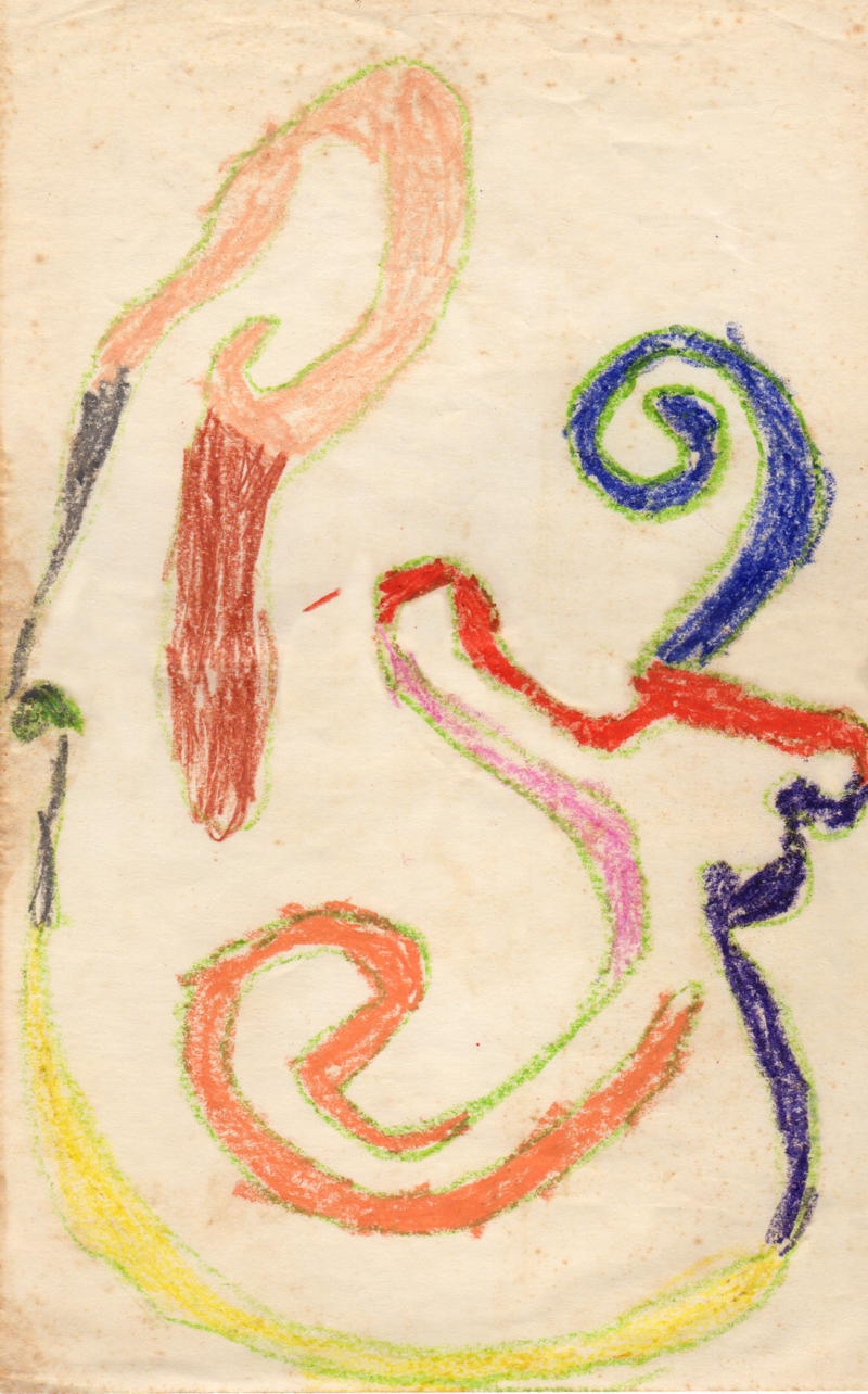 """""""Abstract"""" 1971, Age 6"""