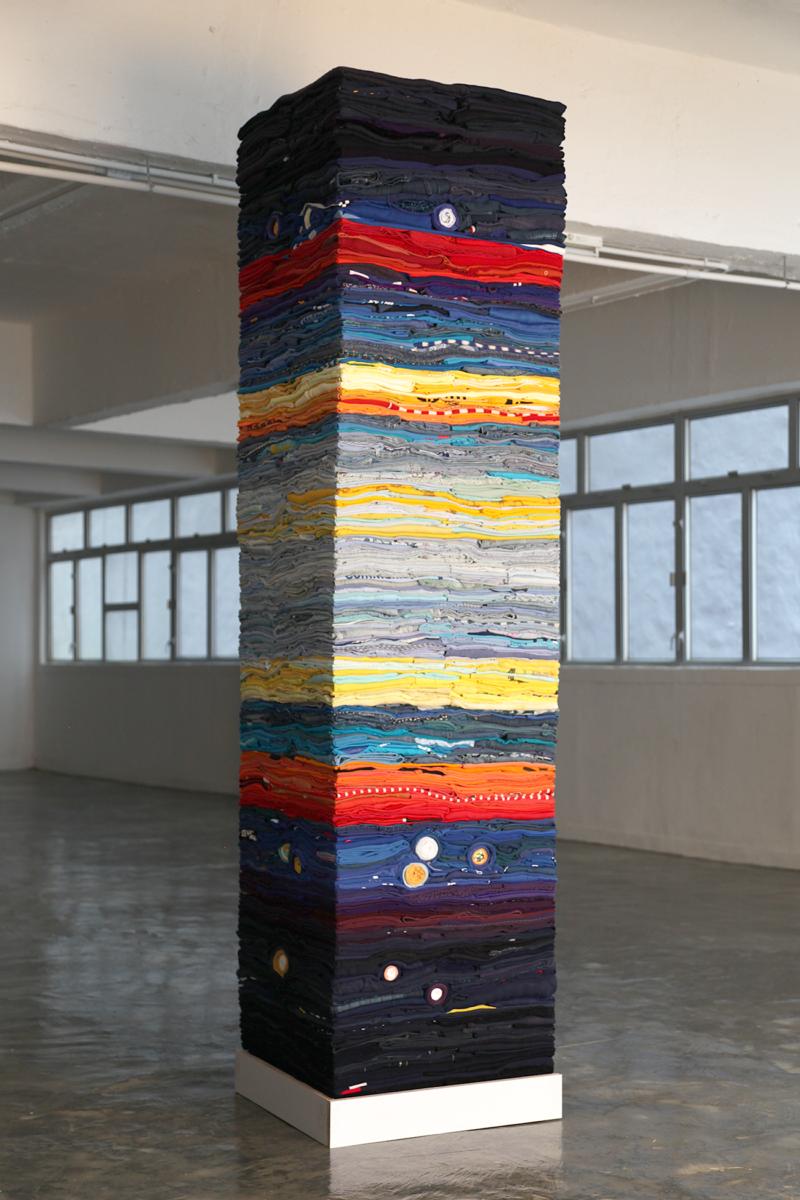 Clothing Sculpture: Atmosphere (portrait), 2019