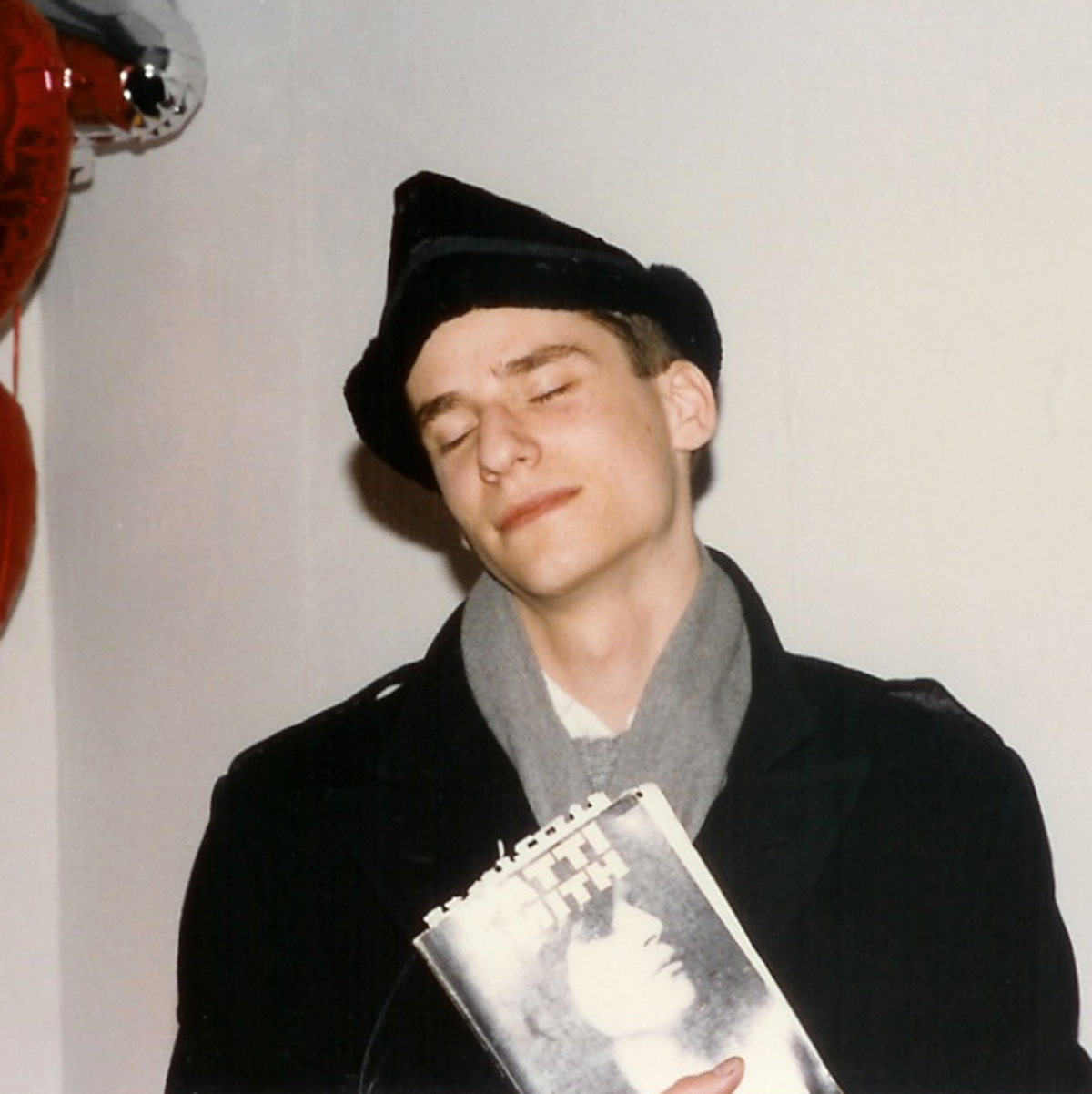 Derick with Patti Smith Book, Babel