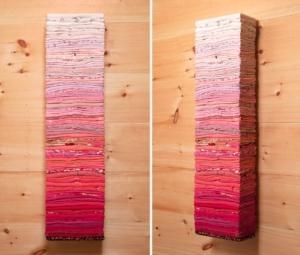 Clothing Sculpture, Pink Gradient