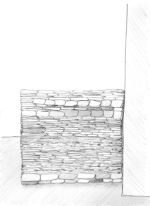 Clothing Sculpture Drawing: Clothing Wall, 2003