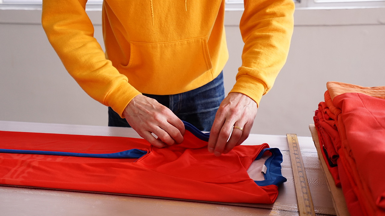 Clothing Folding Demo, You Are My Other Me