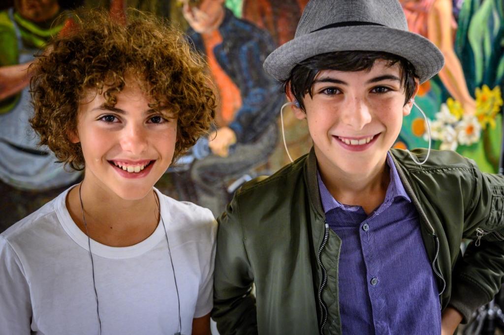 Musicians Matthew and Ezra