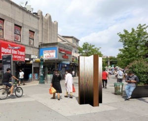 The Witness, Photo Illustration for Diversity Plaza, Queens, NY