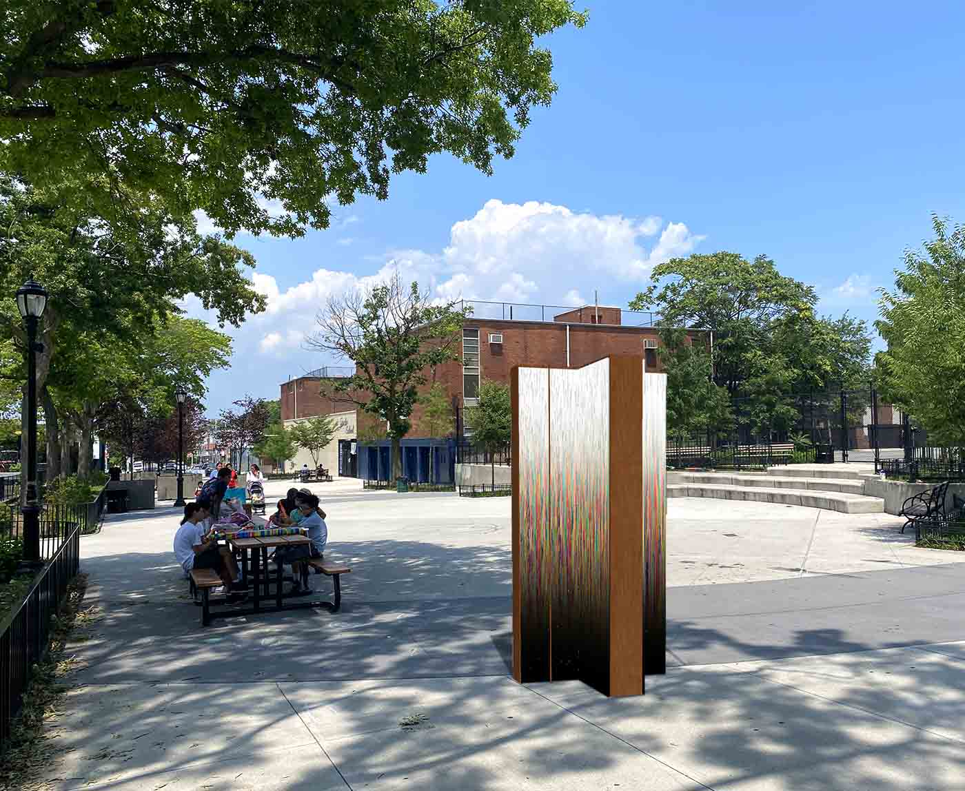 The Witness, Travers Park, Queens